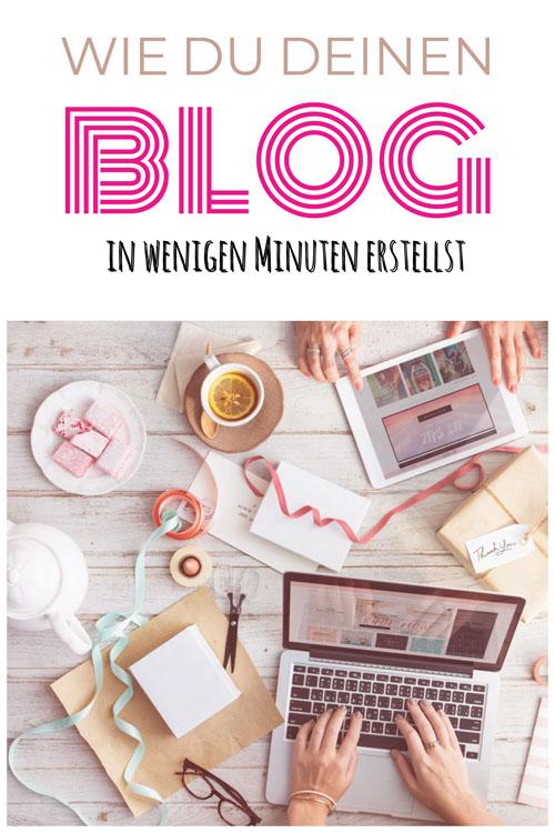 Wie du deinen WordPress Blog erstellst.