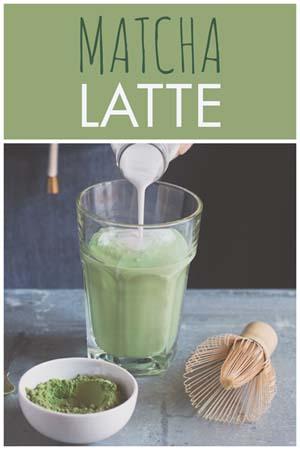 Rezept für Matcha Latte