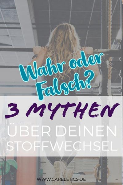 Mythen über deinen Stoffwechsel