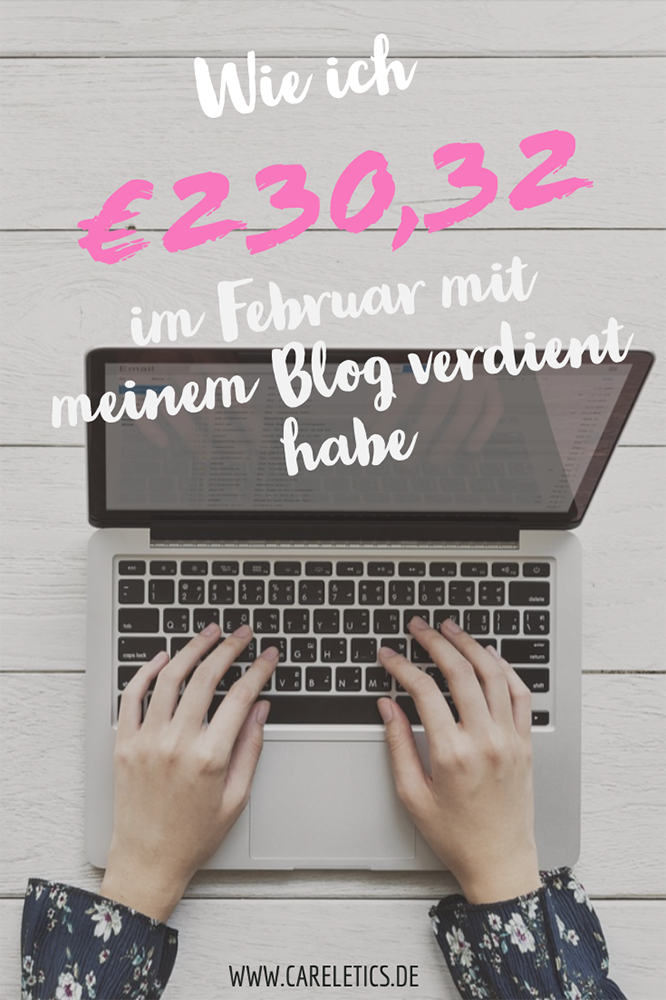 Mein Blog Verdienst im Februar 2019 – careletics