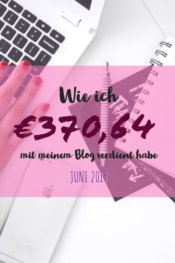 Mein Blogger Verdienst im Juni 2019 – careletics
